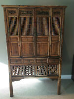 Authentic Antique Chinese Storage Cabinet Fir Wood 115 Yrs Old