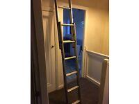 Loft sliding ladder