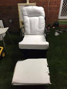 Breastfeeding Recliner Chair with Stool Wantirna South Knox Area Preview