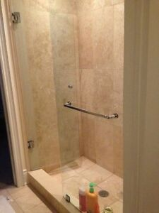 Frameless Shower Glass Doors Enclosures bathtubs - Mirrors etc. Cambridge Kitchener Area image 2