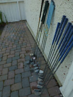 GOLF Lynx Irons and Two sets of Woods Dunlop and Taylor