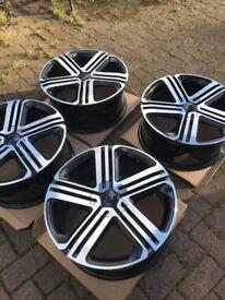 Golf r 18 inch alloys gti gt Passat 5 x 112 wheels caddy