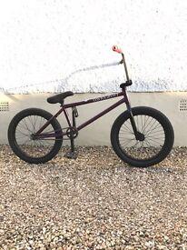 Custom BSD Raider bmx bike