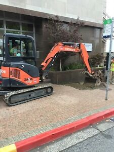 Hitachi ZX35U Mini Excavator