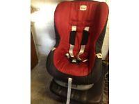 Britax Car Seat in Chilli Pepper