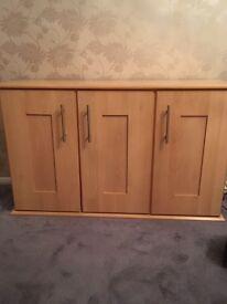Light wood sideboard