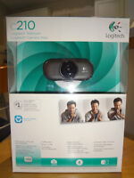 $50 - NEW Logitech Webcam (Value $99). Ideal for a Gift. Save $