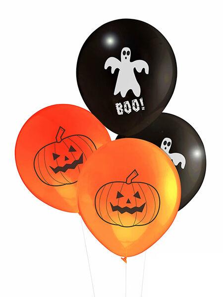 Happy Halloween Balloons Ghost Pumpkin
