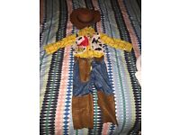 Toy story woody costume age 4-5