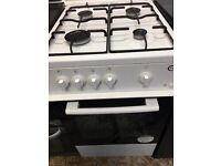Fully gas cooker 50cm white colour good condition for sale