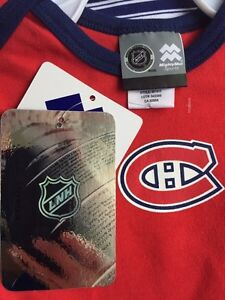 Authentic NHL Habs onsies  West Island Greater Montréal image 2