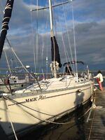 Superbe voilier(MAGIC PLUS)(JEANNEAU 44)(bateau)Lac Champlain