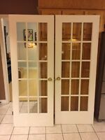 Two French doors 100 OBO