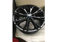 "Ford 17"" black wheel rims (genuine)"