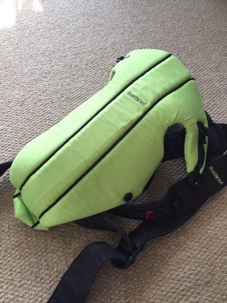 Baby Bjorn baby carrier original - green