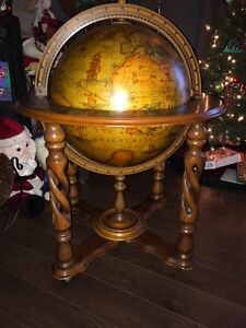 Ultimate Man Cave World Globe Bar