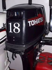 Tohatsu 18hp Outboard. Coffs Harbour Coffs Harbour City Preview