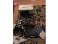 PS3, controller, wires, x6 games all boxed