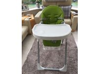 Prima Pappa highchair in Lime.