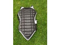 Back protector for motorbike