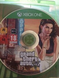 GTA 5 Xbox One Great Condition