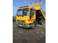 2000 IVECO FORD NEW CARGO TIPPER