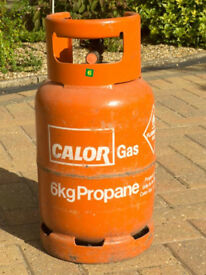 6 Kg CALOR PROPANE GAS CYLINDER