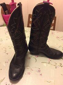 Original men's Nocona boot from Texas