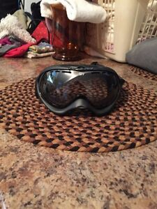 Clear snow boarding googles