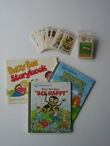 Buzzy Bee. Children.Vintage Books + Game. Faith Values/Character