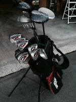 Wilson's right handed complete golf set