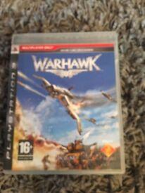 PS3 PlayStation 3 warhawk