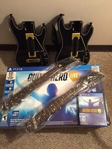 Guitar hero(guitars and game)