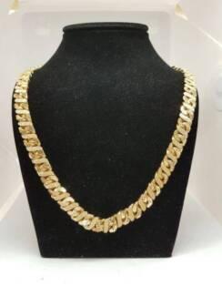 mens gold neck chain