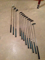 Altima Gold Left Hand Golf Set