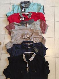 Joblot BNWT Designer Mens Large tshirt/polo