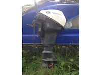 Johnson 9.5 outboard motor