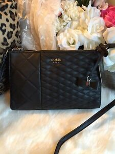 New GUESS quilted cross body