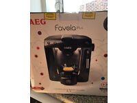 AEG FAVOLA PLUS coffee machine brand new