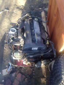 Ford escort parts bumper engine doors etc
