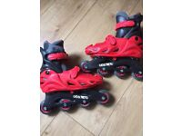 Adjustable roller blades