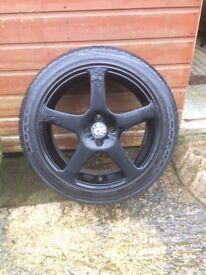 Kahn alloy wheels 17 4x100