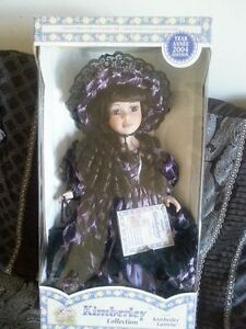 Kimberley Collection porcelain doll