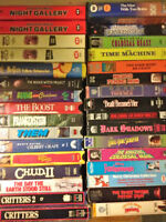 SCIENCE FICTION VHS VIDEOS