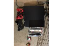 250gb PS3 bundle and games