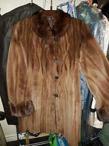 Mink Coat reversible