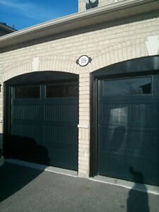 MAINTENANCE FREE garage doors.  Call today for free quote