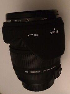 Sigma 17-70mm f2.8 for Nikon // Macro HSM OS