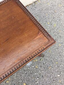 Small Brown vintage coffee table  London Ontario image 4