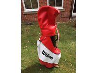 Wilson pro staff golf bag